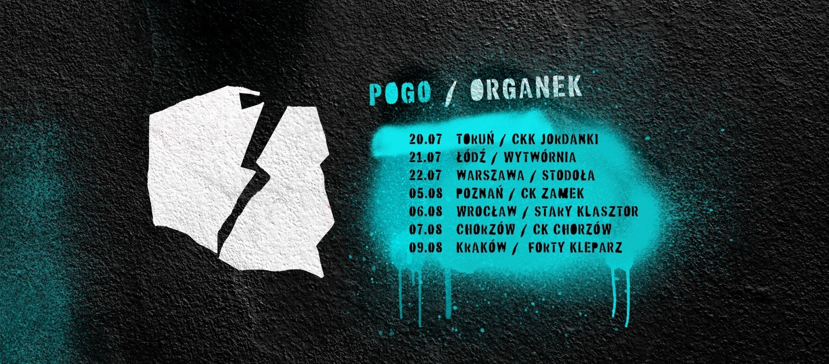ØRGANEK - POGO MINI TOUR 2020