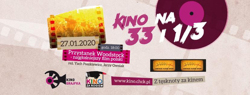 Kino na 33 i 1/3 - KINO GRAJFKA
