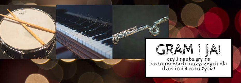 Ruszają zapisy na zajęcia instrumentalne dla dzieci - GRAM I JA!