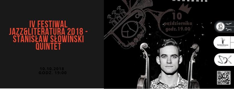 | IV FESTIWAL JAZZ&LITERATURA 2018